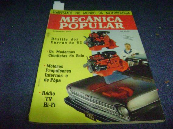 Revista Mecanica Popular - Dez/61 - Desfile Dos Carros De 62