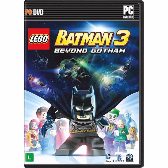 Jogo Mídia Física Batman 3 Beyond Gotham Original Pc
