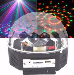 Bola Maluca Musical Bluetooth Iluminação Eventos Mp3 2 Pçs