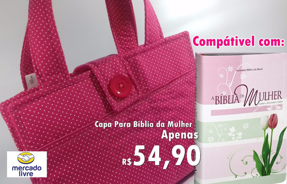 Capa Para Bíblia De Estudo Da Mulher
