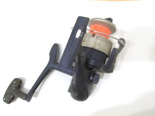Reel De Pesca Okuma A165 Completo Con Tanza Funcionando