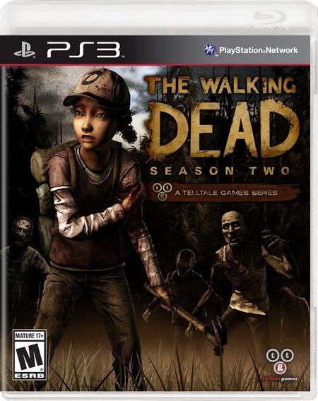 Jogo Novo The Walking Dead Season Two Para Playstation 3 Ps3