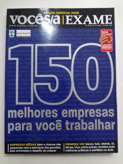Revista Você S/a Exame Edição Especial 2008
