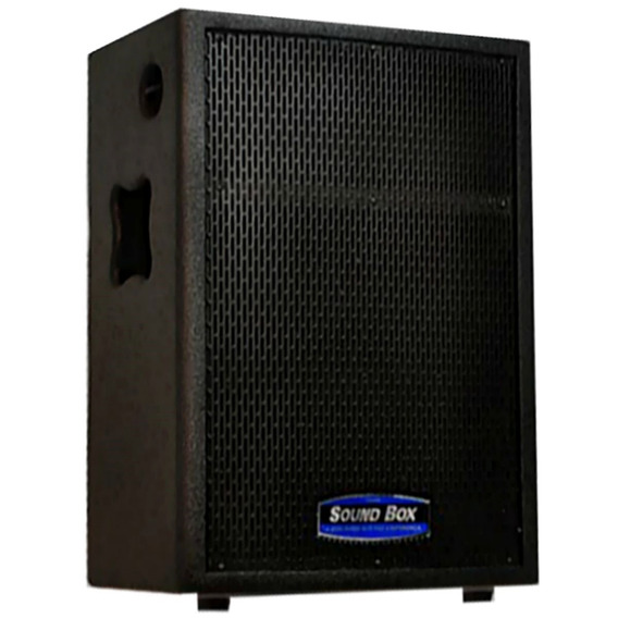 Caixa Som Ms12 Passiva Soundbox Com Capa