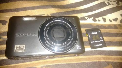 Camera Digital Olimpus Vg 120 14megapixel Filma Em Hd