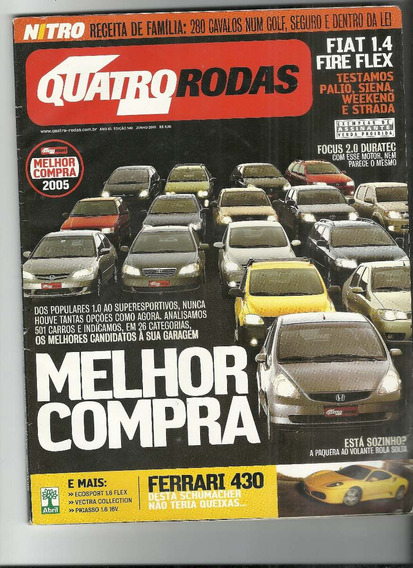 Revista 4 Quatro Rodas Nº 540 De Junho De 2005