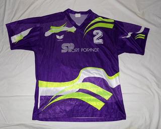 Camisa Unterpfaffenhofen Alemanha Erima #2 De Jogo