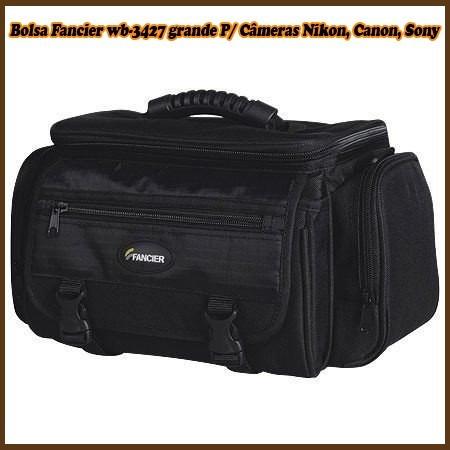 Bolsa Fancier Wb-3427 Grande P/ Câmeras Nikon, Canon, Sony