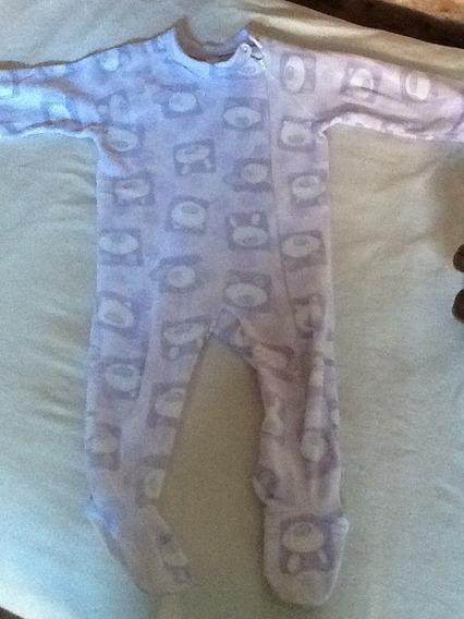 Pijama Dormilon Con Cierre Y Plantillas.