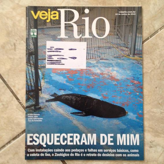 Revista Veja Rio 18/03/2015 Zoológico Do Rio Animais