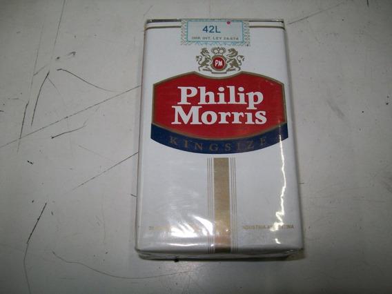 Marquilla Cigarrillos Philip Morris King Size Colección C64