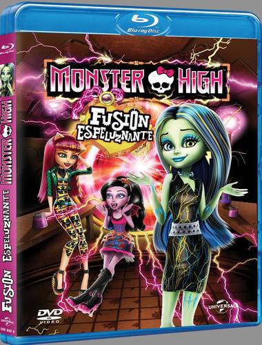 Monster High Fusion Espeluznante (bluray) Nuevo Original