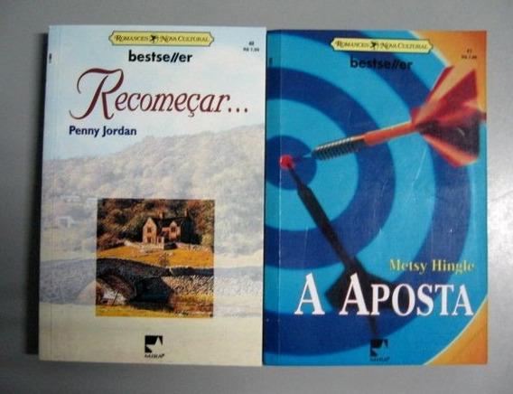 2 Livros Bestseller - Romances Nova Cultural