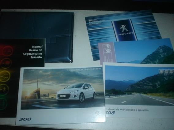 Manual Peugeot 308 2013 2014 Original 1.6 2.0 16v Thp Flex