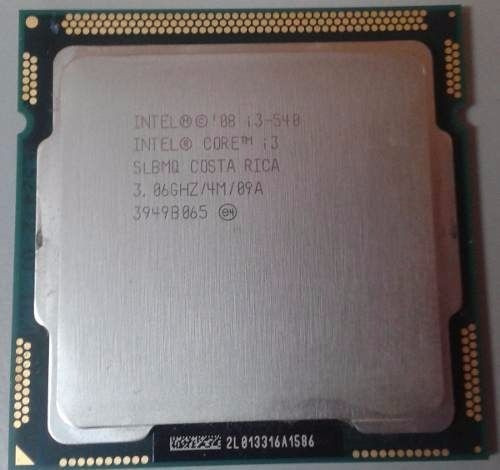 #382 Intel Core I3 540 Socket 1156 3.06ghz