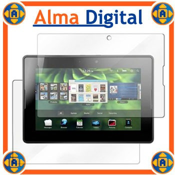 2x Laminas Protector Pantalla  Y Anverso Blackberry Playbook