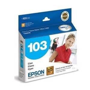 Cartcucho De Impressora Epson To 103 Cian