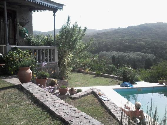 Casa De Montaña En Salsipuedes ,tranquilidad Y Paz