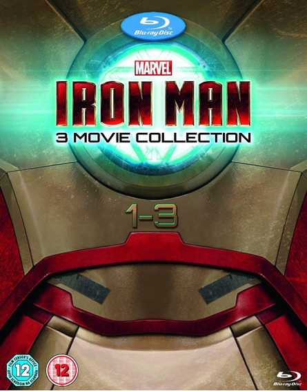 Iron Man La Coleccion Completa De Peliculas En Blu-ray