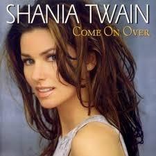 Shania Twain Cd Come On Over