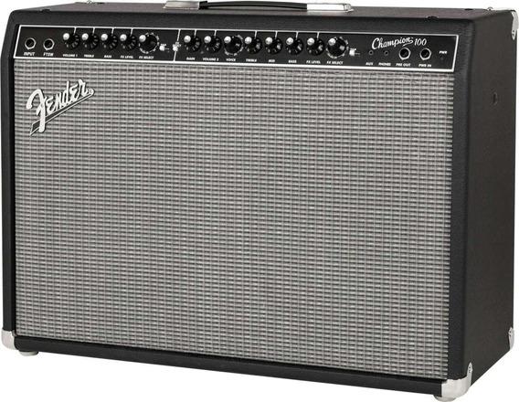 Amplificador Fender Champion 100 Con Efectos! En Belgrano Tm