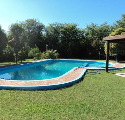 Casa Quinta Vista Al Río C/pileta-parrilla-parque 4800 M2