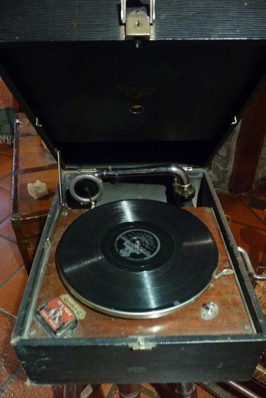Antigua Victrola Original Made In Usa