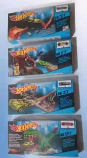 Pistas Hotwheels City 4 Diferentes Pistas Mattel Original