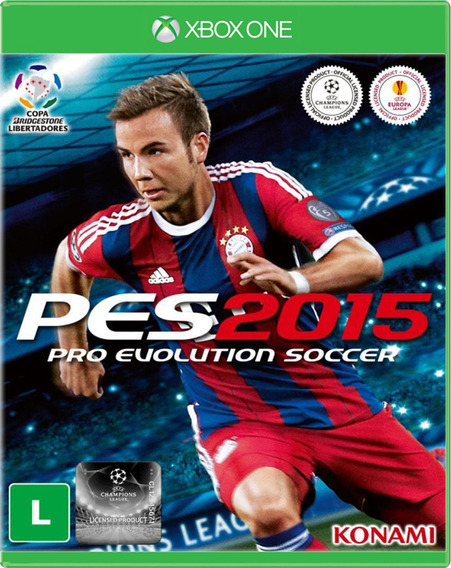Pes 15 - Pro Evolution Soccer 2015 - Xbox One - S. G.