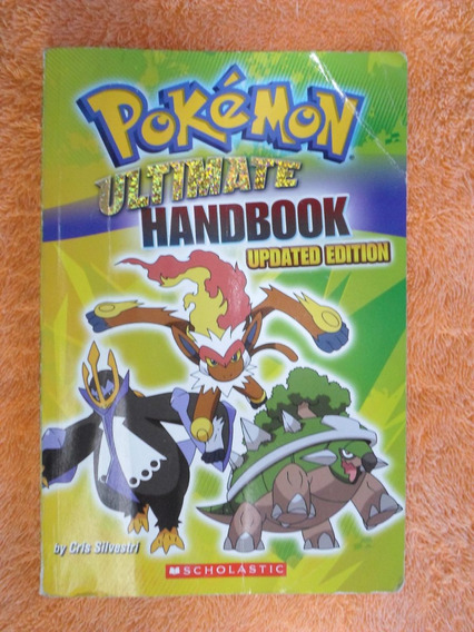 Livro Pokemon Ultimate Handbook - Updated Edition Importado