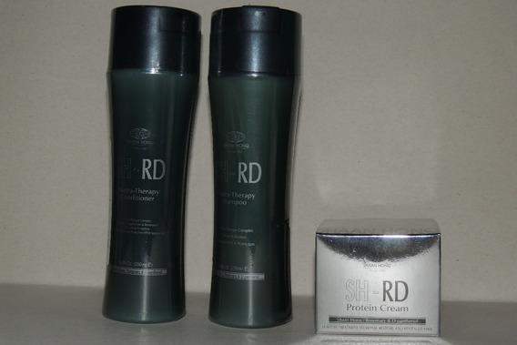 Shrd Shampoo E Condicionador 250ml E Protein Cream 80ml