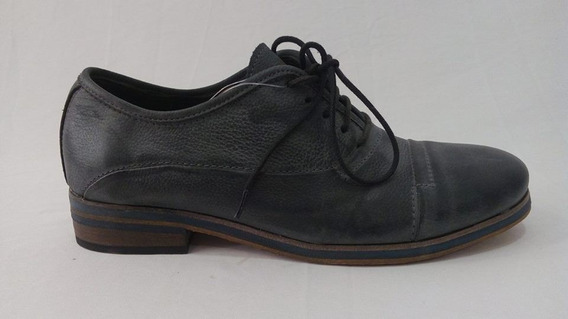 Zapato Vestir Cuero Gastado Hombre Art 13851. Marca Panther