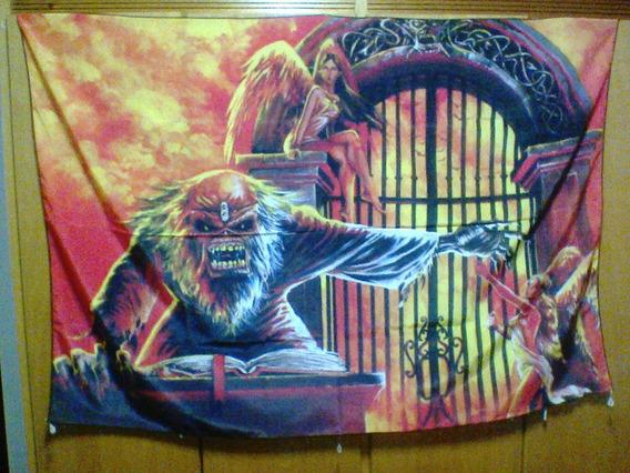 Bandeira Iron Maiden 100% Polyester Últimas Unidades
