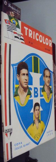 Revista Tricolor - São Paulo Futebol Clube - Nº 65 - 1958