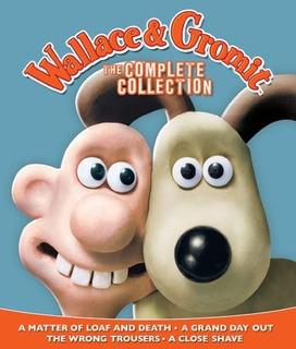Wallace & Gromit La Coleccion Completa De Peliculas Blu-ray