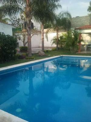 Casa Sola En Renta Fin De Semana En Cuernavaca -la Palma-