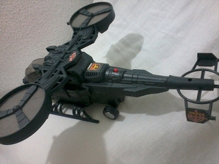 Brinquedo Avião Helicoptero Planetario 38 Cm Som/luz