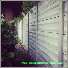 Cerco Muro Premoldeados - La Fabrica Placas-poste-block-