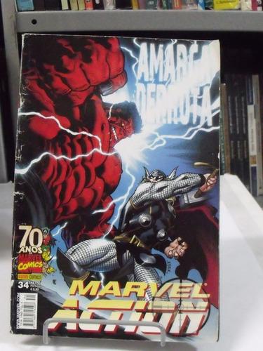 Hq Marvel Action Amarga Derrota - Nº 34