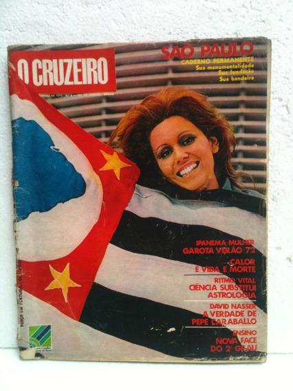 Revista O Cruzeiro No 05 Fevereiro De 1972 Capa São Paulo