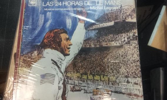 Disco Vinilo Banda Sonora Las 24 Horas De Le Mans ¬ La Plata