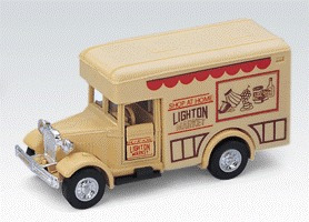 Camión Shop At Home Escala 1:43 Welly Antique Lorry