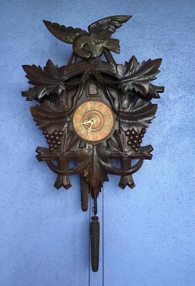 Antigo Relógio Cuco H Modelo 203