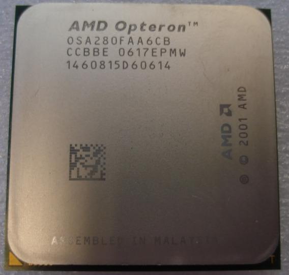 Processador Amd Opteron 280 2.4 Ghz 0st280faa6cb