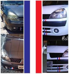 Adesivo De Grade Da França, Peugeot, Renault, Citroen 22x6cm