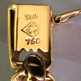 Pulseira Ouro 18k-21.9gr. Comp. 20cm. Larg. 9mm.