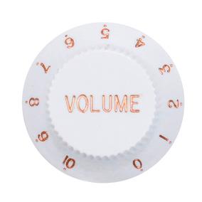 Knob De Volume Para Strato Branco Dolphin - Ac0652