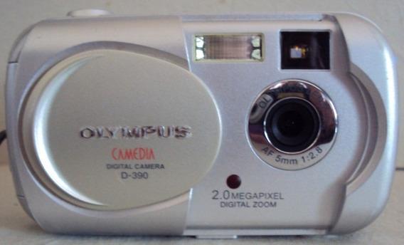 173 Prd- Câmera Digital Olympus- D390- Camedia- Funcionando