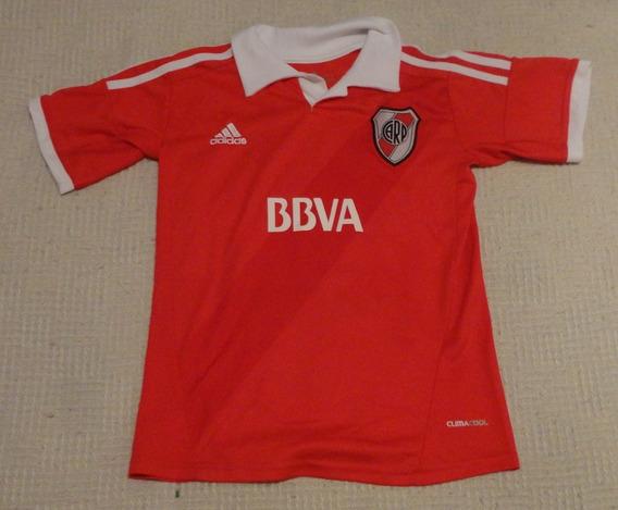 Camiseta De River Marca adidas #7, Talle 12 Niños