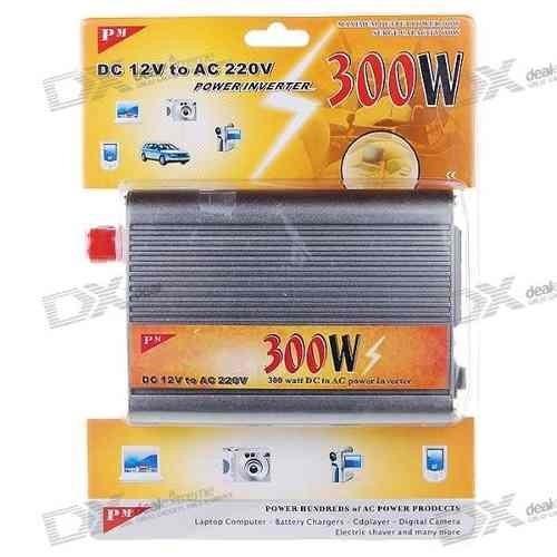 Inversor Conversor Bateria Veicular 12v Para 220v 300w